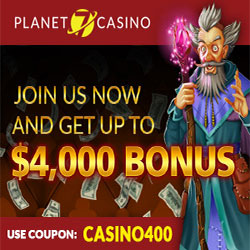 400% No Deposit Bonus